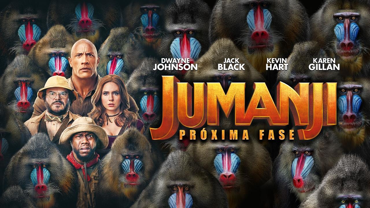 Jumanji: Próxima Fase está disponível para compra digital