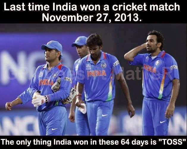 funny indian cricket team picture after losing so many matches