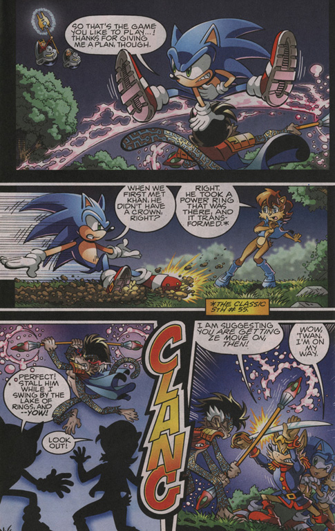 Read online Sonic The Hedgehog comic -  Issue #204 - 7