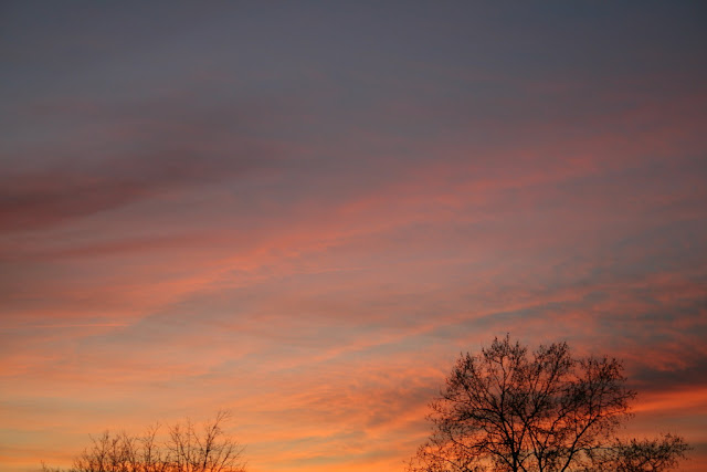 Coucher de soleil (mars 2007)
