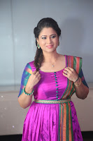 Shilpa Chakravarthy in Purple tight Ethnic Dress ~  Exclusive Celebrities Galleries 028.JPG