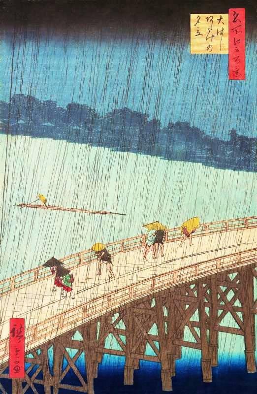 Vincent van Gogh, Yağmurda Köprü ile ilgili görsel sonucu