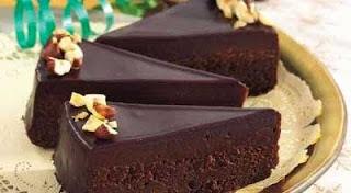 resep cara membuat cake coklat enak