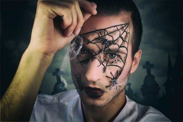 Szybki łatwy makijaż na halloween last minute