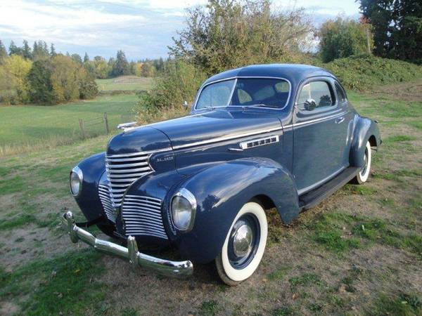 1939 Desoto S6 Business Coupe