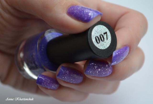 VCND Bluesky 007, стемпинг Born Pretty Store BPL -027  и поздравления с 8 марта!