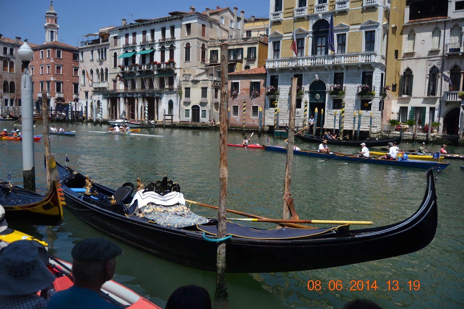 Venice, Gondola and Lido