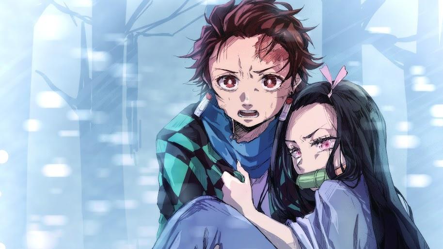 Tanjirou and Nezuko, Kimetsu No Yaiba, 4K, #55