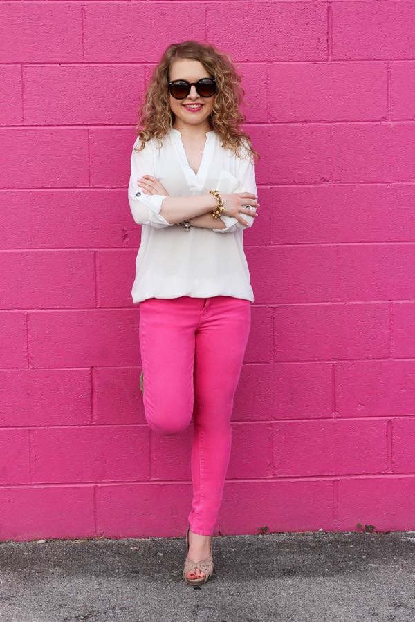 J. Crew Pink Pants, Lawyer Lookbook