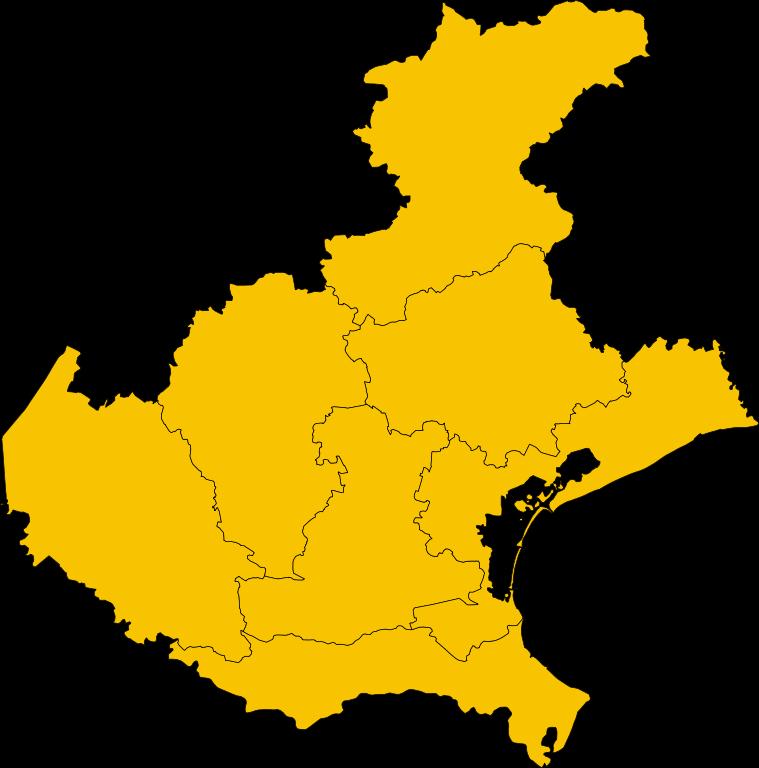 Cartina Muta Del Veneto