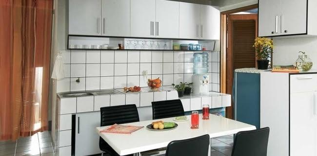 Dekorasi Desain Dapur Dan Ruang Makan Sederhana Terbaru