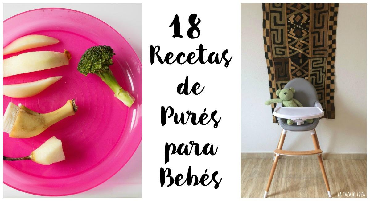 18 Purés Para Bebés La Taza De Loza