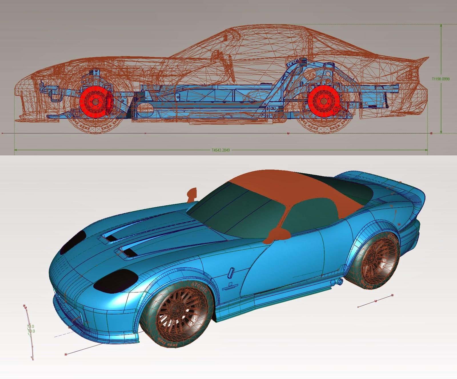 Mike Lane Design 3D Modeling Class: GTA 5 Bravado Banshee