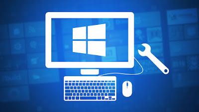 instal windows cinere