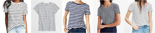 Relaxed Crew-Neck Tee for Women • Old Navy • $7 (reg $13) Factory striped studio T-shirt • J.Crew Factory • $19 (reg $27) Tommy Hilfiger Striped Anchor-Print T-Shirt • Tommy Hilfiger • $20 (reg $40) - extra 20% off with code SUMMER, ends 6/8 Relaxed linen T-shirt in stripe • $30 (reg $43) - extra 30% off with code GETSHOPPING, ends 6/6 Anthem Crewneck Tee in Midday Stripe • Madewell • $33 (reg $45) - extra 20% off with code HEYJUNE, ends 6/6