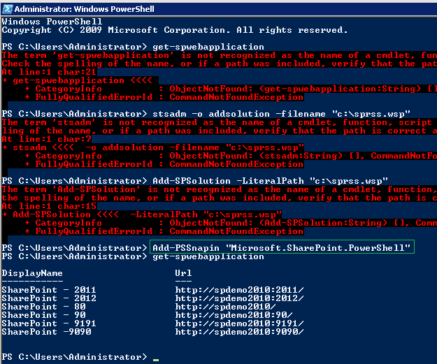 SharePoint Kings: STSADM vs  PowerShell - Deploying a solution