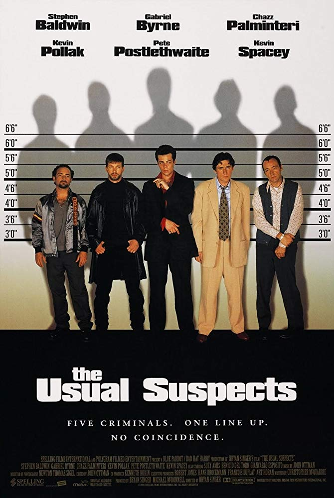 The Usual Suspects 1995 English Movie Bluray 720p With Bangla Subtitle