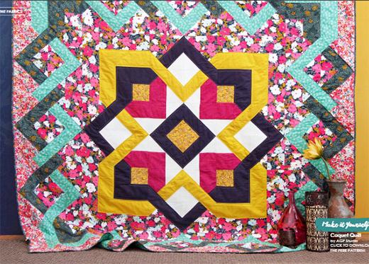 Coquet Quilt Free Pattern