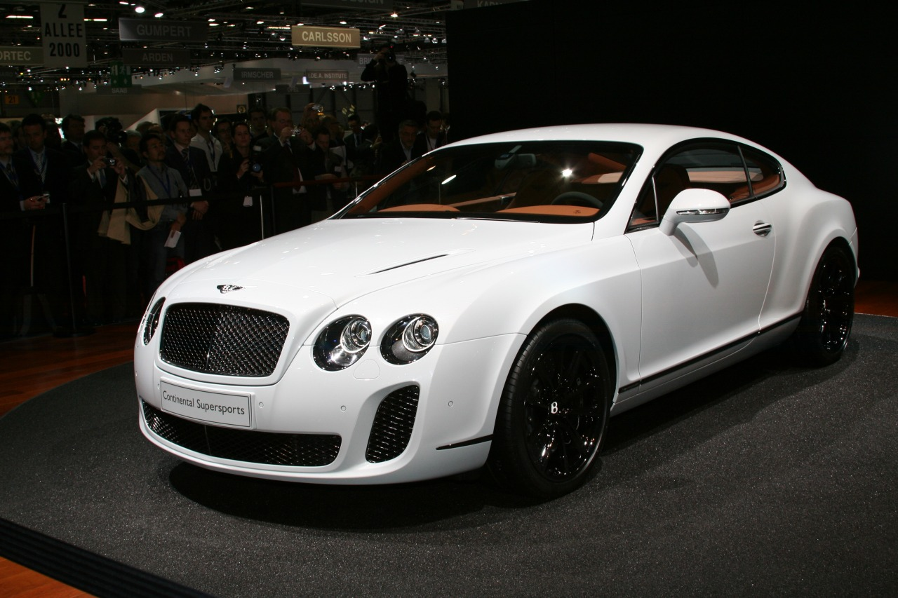 all car collections bentley continental supersports. Black Bedroom Furniture Sets. Home Design Ideas