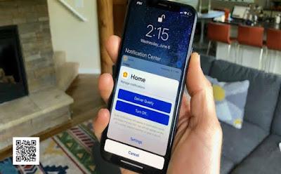 كيف تقوم بتمكين الاشعارات الهادئه على ايفون iphone ios 12