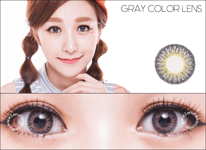 geo tricolor gray circle lenses