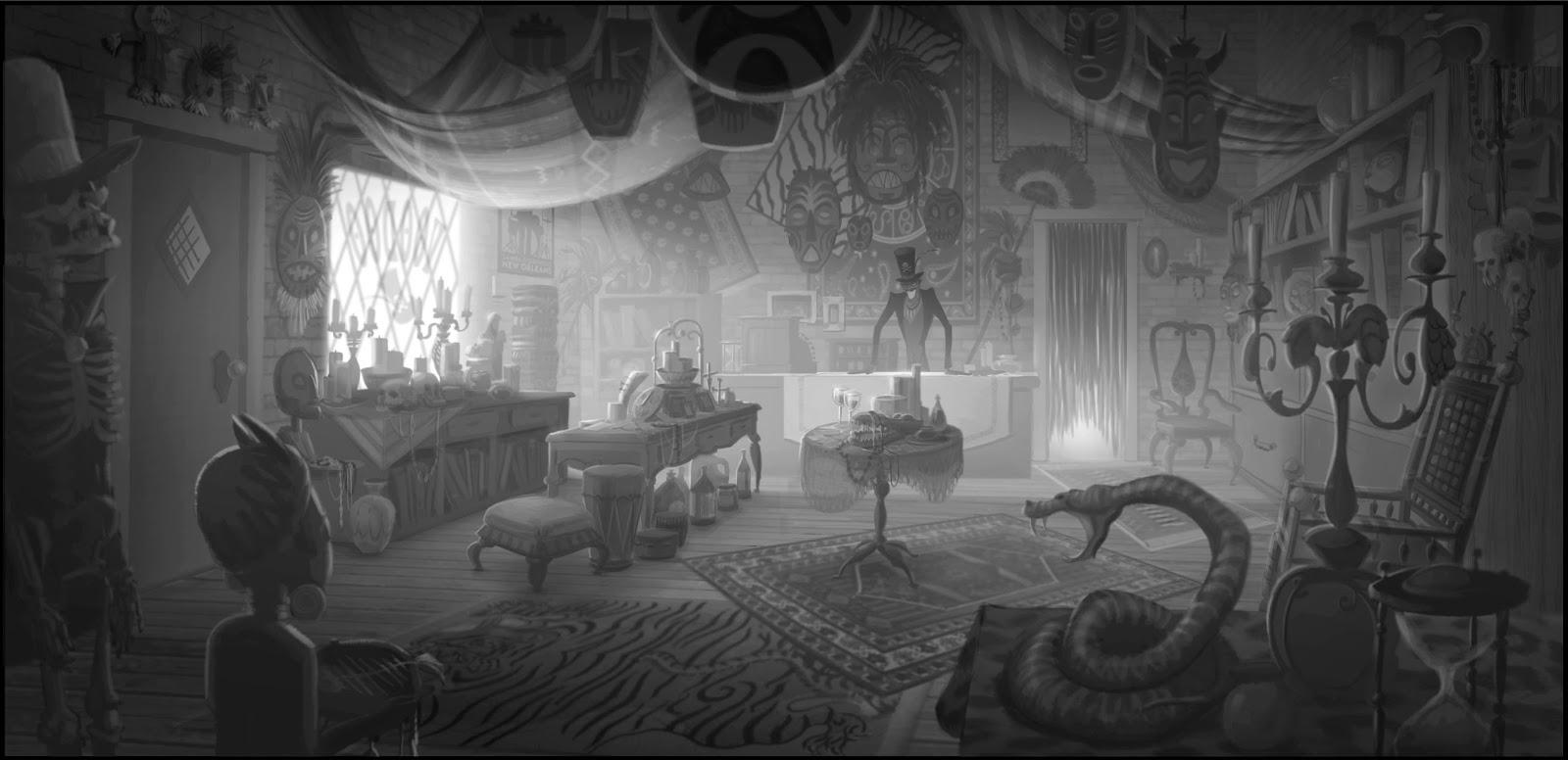 PJ Raines: The Princess & The Frog - Visual Development
