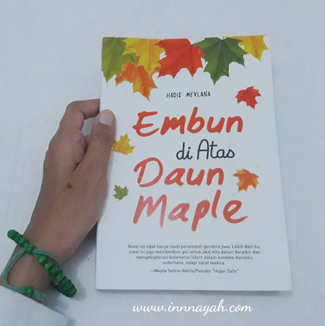 Embun di atas daun maple, review buku, review novel, hadis mevlana, novel islam embun di atas daun maple
