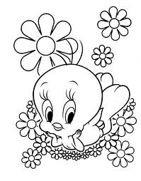Cartoon Design: Tweety Coloring Pages