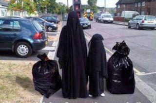 Taking Out The Garbage - Arab Joke