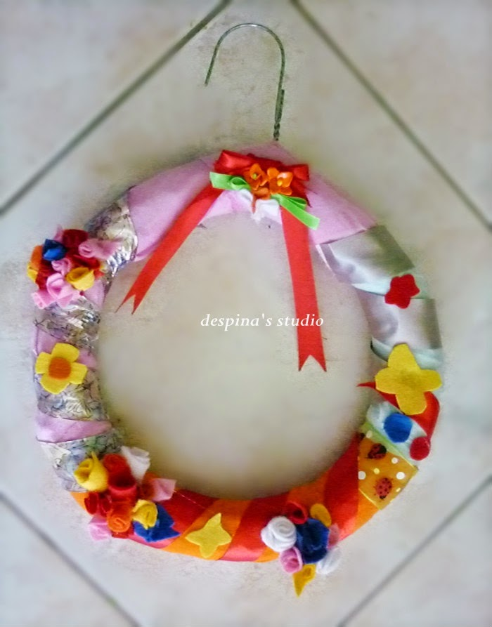 DIY-spring-wreath-from-leftovers