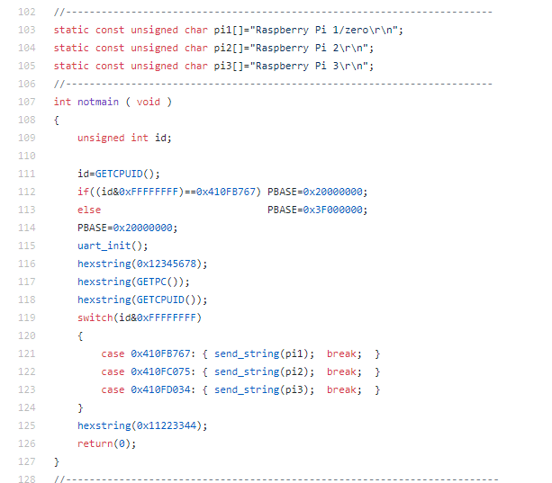 Reversing a bare bones Raspberry Pi Kernel : Branching To