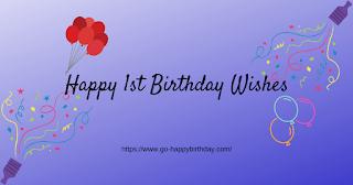 100 Best Happy 1st Birthday Wishes For Boy Girl Happy Birthday