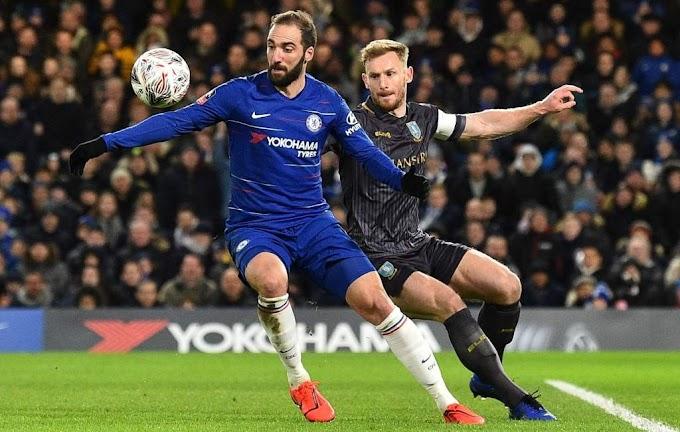 Higuain Tolak Pinalti di Debut Pertama Chelsea Fc