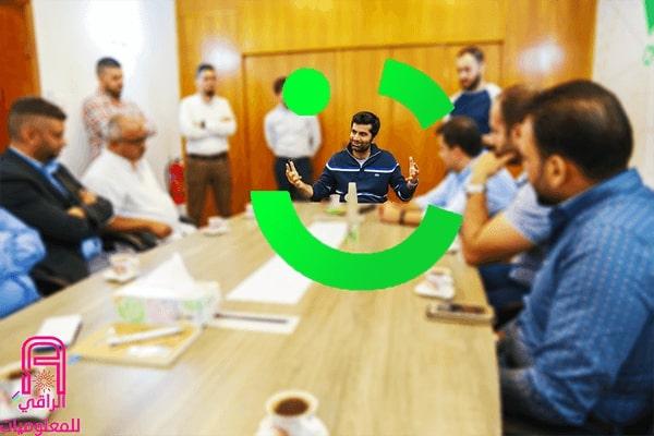 الرئيس التنفيذي والشريك المؤسس لشركة كريم يزور بغداد