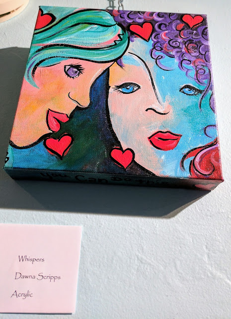 """Original artwork by Dawna Scripps based on the poem, created for """"A Broad Perspective"""""""