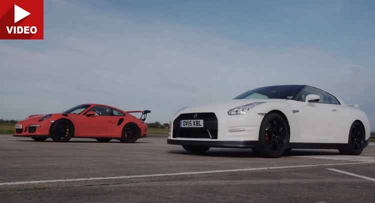 Nissan GT-R Gets Schooled By A Porsche 911 GT3 RS On A Straight Line