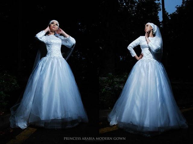 THE BRIDE WEARS HIJAB: Princess Arabia Muslimah Bridal