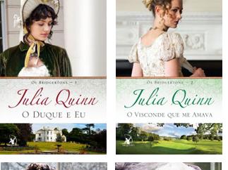 """Resenha: """"Os Bridgertons"""" - Livros 01, 02, 03 e 04 - Julia Quinn"""