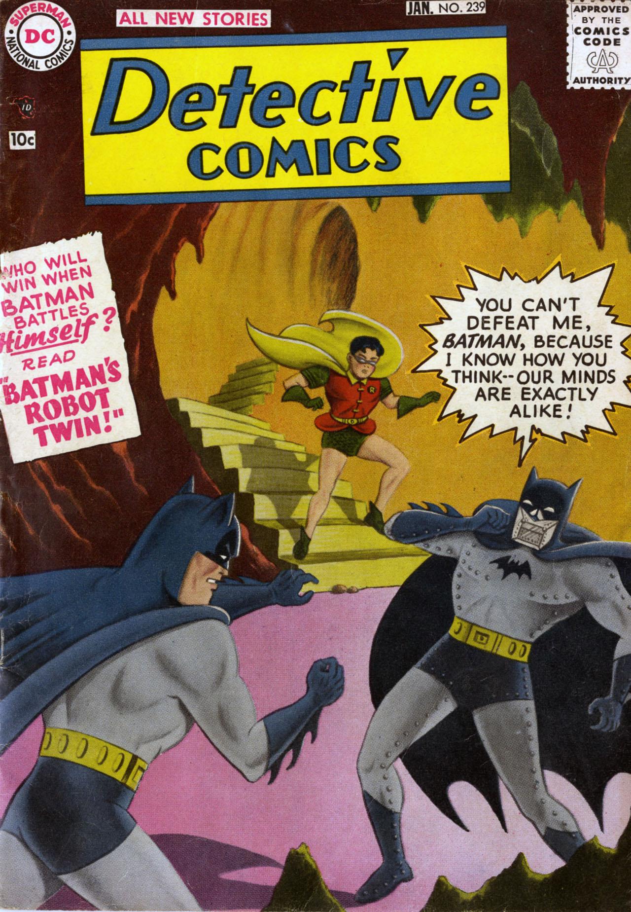 Detective Comics (1937) 239 Page 1