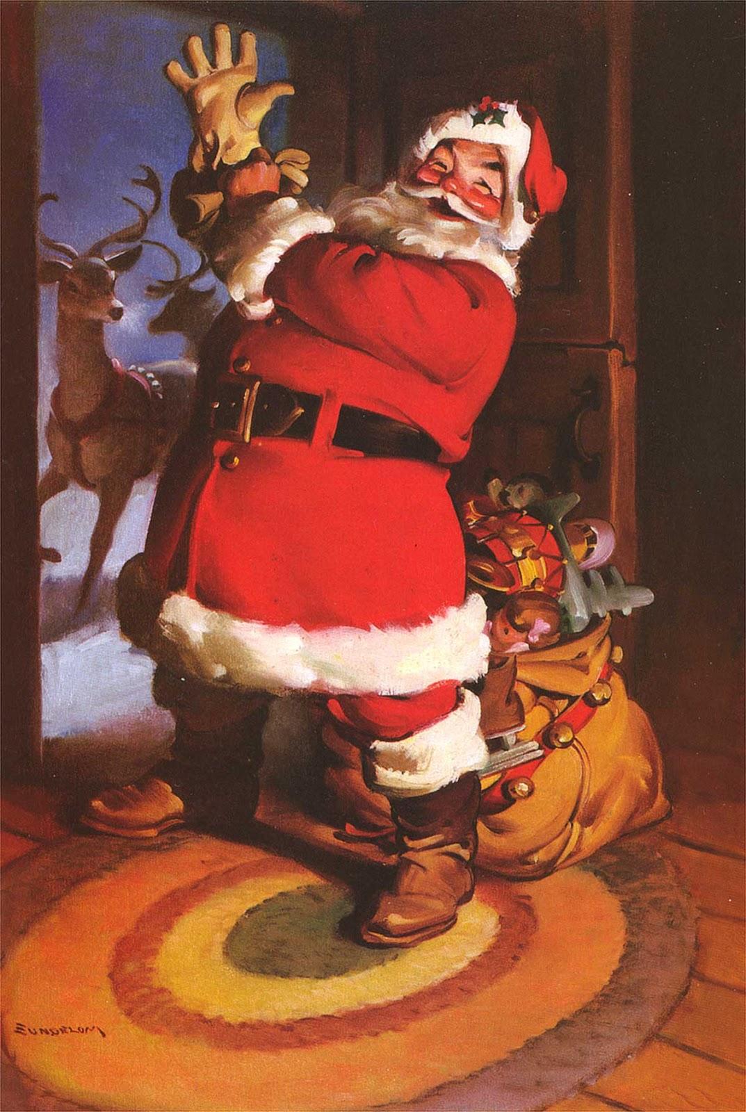Cartoonatics: Santa Claus by Haddon Sundblom -- Part 2