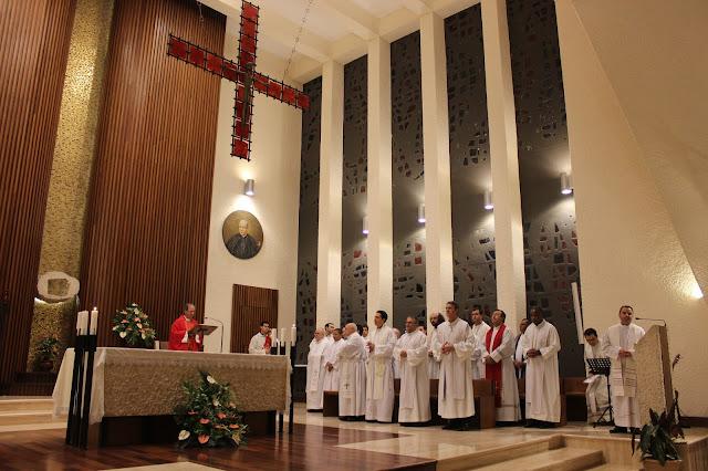 En el Pontificio Colegio Español