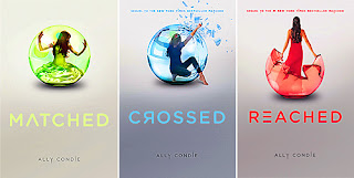 Matched Trilogy by Ally Condie | Cover Love