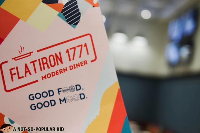 FLATIRON 1771 modern diner menu