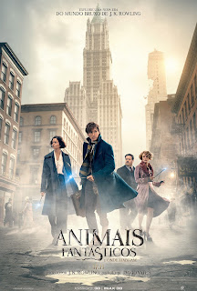 Pôster/capa/cartaz nacional de ANIMAIS FANTÁSTICOS E ONDE HABITAM (Fantastic Beasts and Where to Find Them)