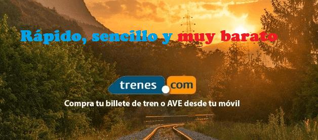 Ventajas de reservar en Trenes.com