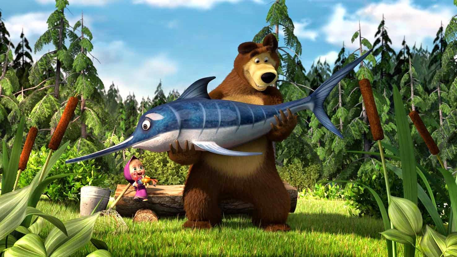 Masha And The Bear Sketsa Agcgurufo