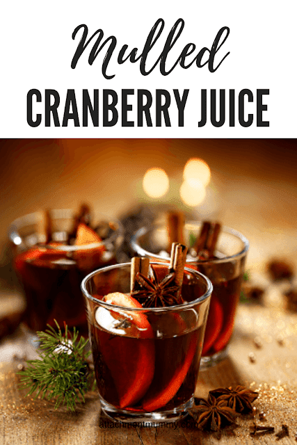 Mulled cranberry juice recipe