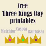 free epiphany printables