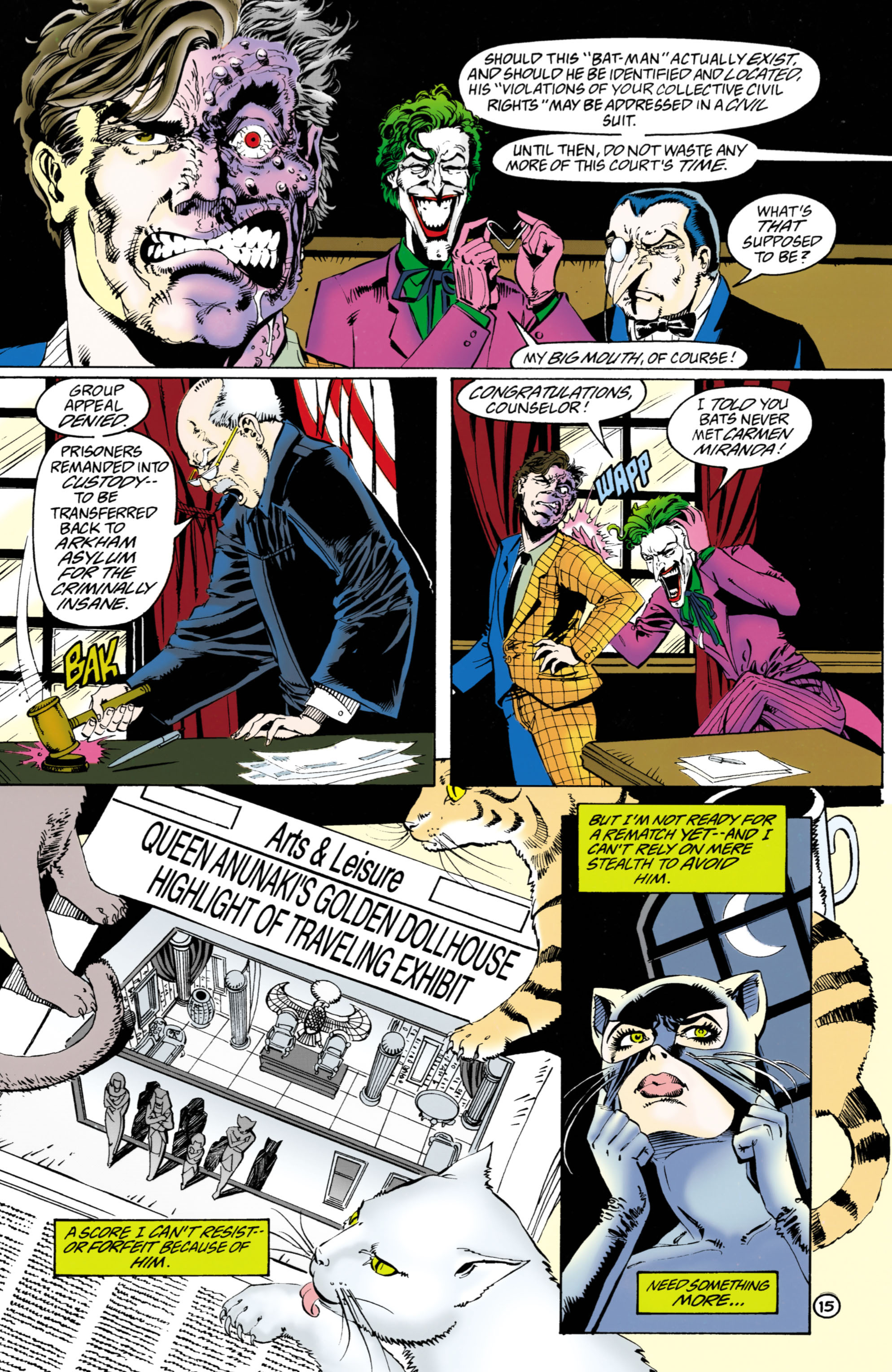 Catwoman (1993) Issue #38 #43 - English 16