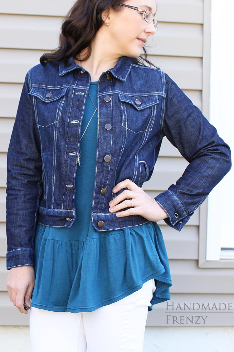 Hampton Jean Jacket // Sewing For Women